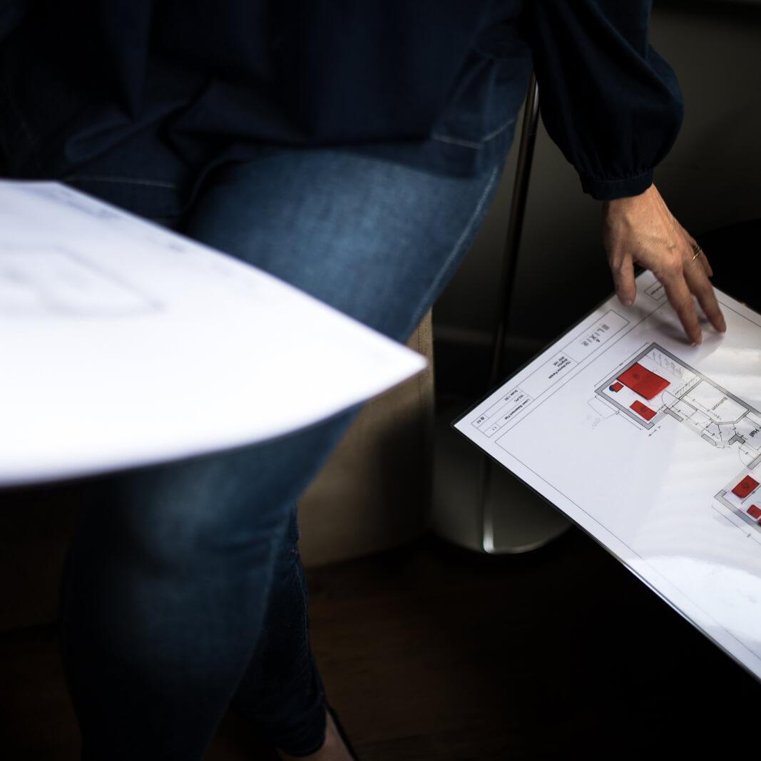 online interior design service layout plans